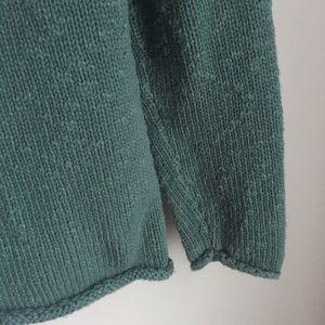L.L. Bean Sweaters - L. L. Bean   Sage Green Mock Neck Sweater Small